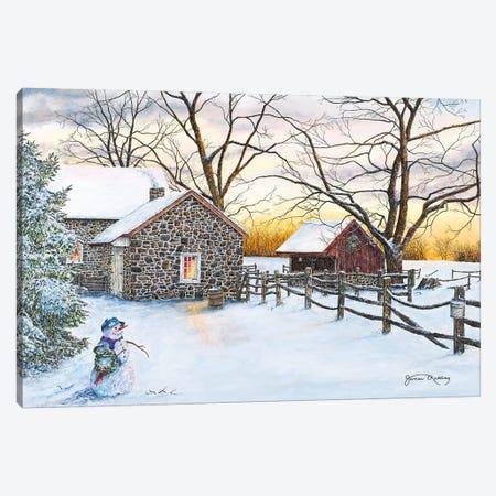 Mr.Twiggs Canvas Print #RDD36} by James Redding Canvas Art