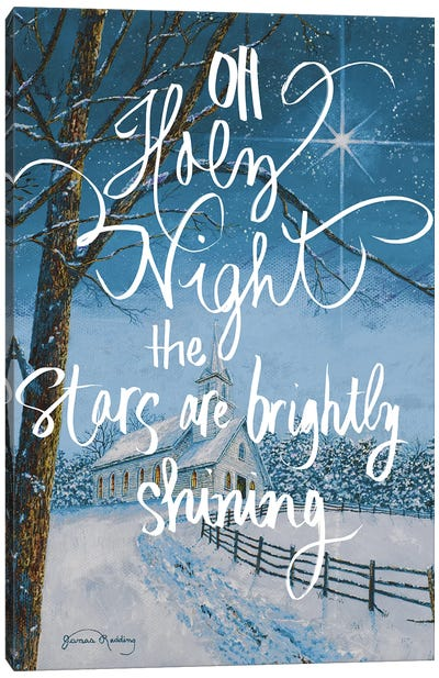 Oh Holy Night Canvas Art Print