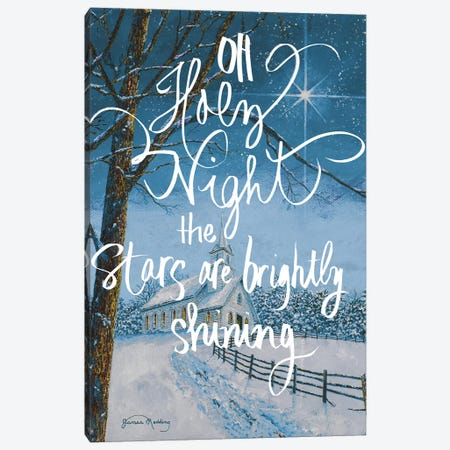 Oh Holy Night Canvas Print #RDD37} by James Redding Canvas Artwork