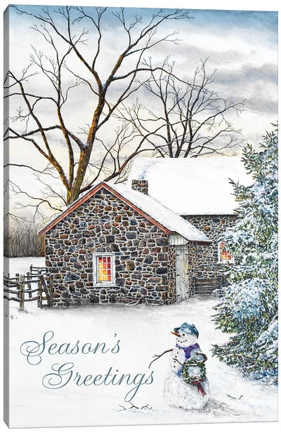 Season's Greetings Canvas Art Print
