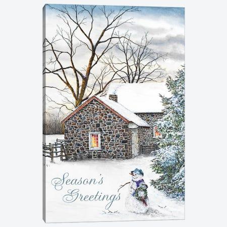 Season's Greetings Canvas Print #RDD38} by James Redding Canvas Art Print