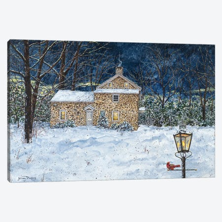 Stone House Canvas Print #RDD40} by James Redding Canvas Artwork