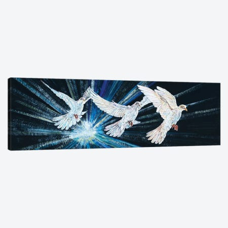 Three Spirits Canvas Print #RDD42} by James Redding Canvas Art