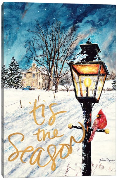Tis the Season Canvas Art Print