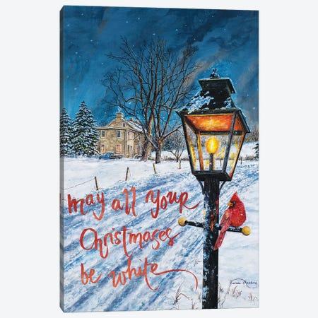 White Christmas Canvas Print #RDD44} by James Redding Canvas Art Print