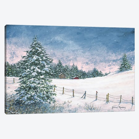 Winter Mornings Canvas Print #RDD47} by James Redding Canvas Print