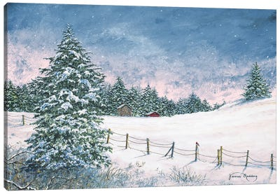 Winter Mornings Canvas Art Print