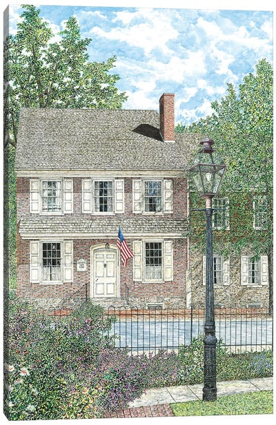 Court Inn Canvas Art Print