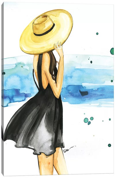 We Need Vitamin Sea Canvas Art Print