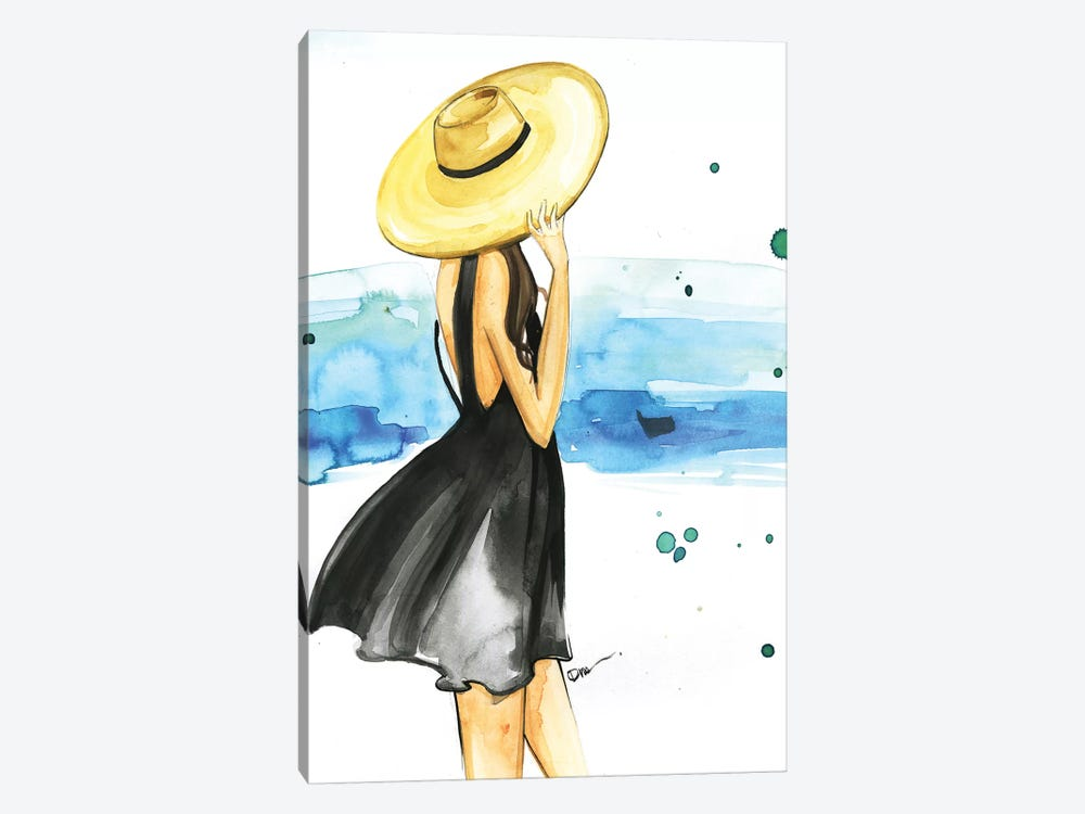 We Need Vitamin Sea by Rongrong DeVoe 1-piece Canvas Artwork