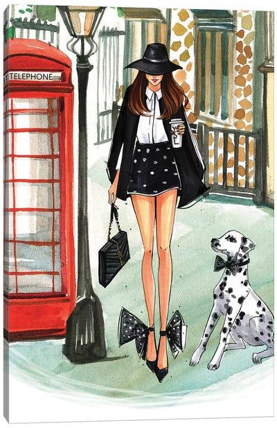 Black & White Monday II Canvas Art Print
