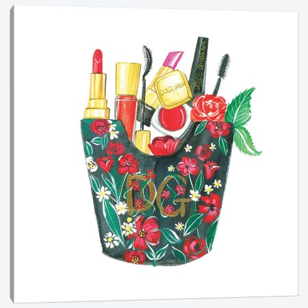 Dolce & Gabbana Fry Day Canvas Print #RDE108} by Rongrong DeVoe Canvas Wall Art