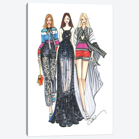 Elie Saab Ladies Canvas Print #RDE109} by Rongrong DeVoe Canvas Wall Art