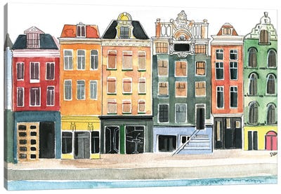 Amsterdam Canvas Print #RDE121