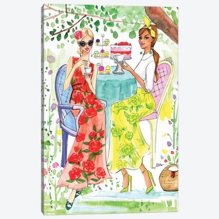 Hello April 2017 Canvas Print #RDE135} by Rongrong DeVoe Canvas Artwork