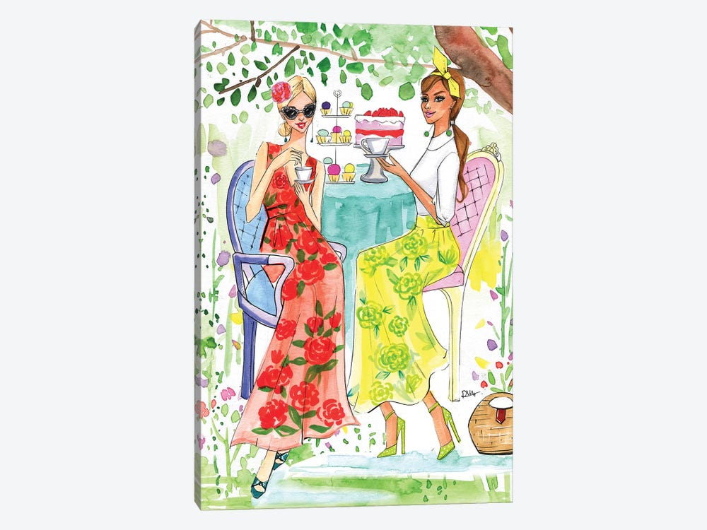 Hello April 2017 by Rongrong DeVoe 1-piece Canvas Art Print