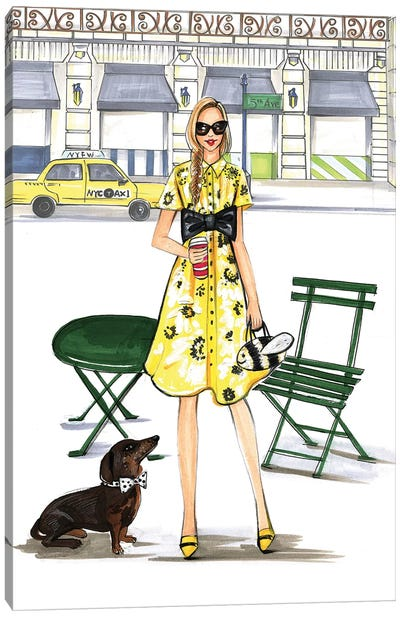 Kate Spade Kinda Day Canvas Print #RDE137