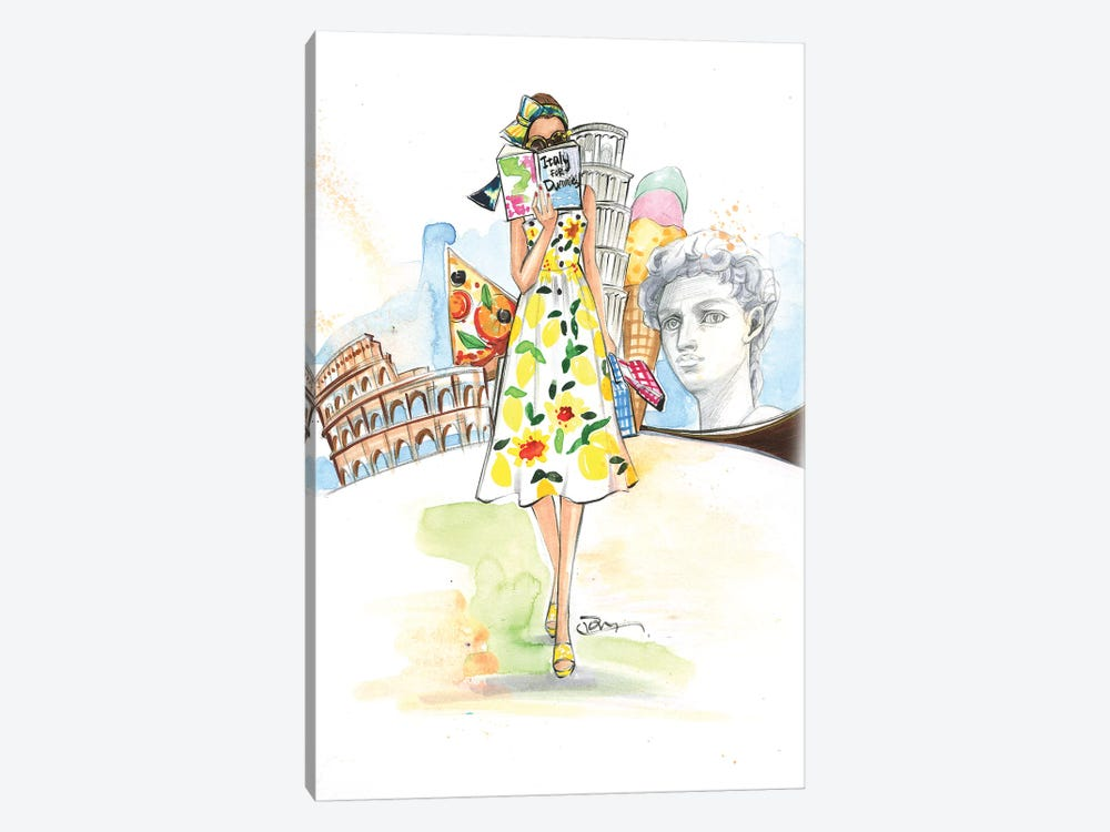 Rome, Here I Come! by Rongrong DeVoe 1-piece Art Print