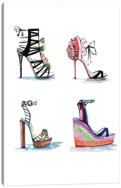 Sophia Webster Shoe Collection Canvas Print #RDE147