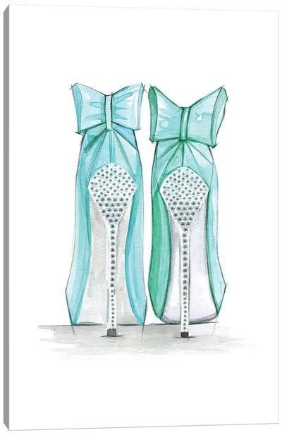 Tiffany Shoes Canvas Print #RDE148