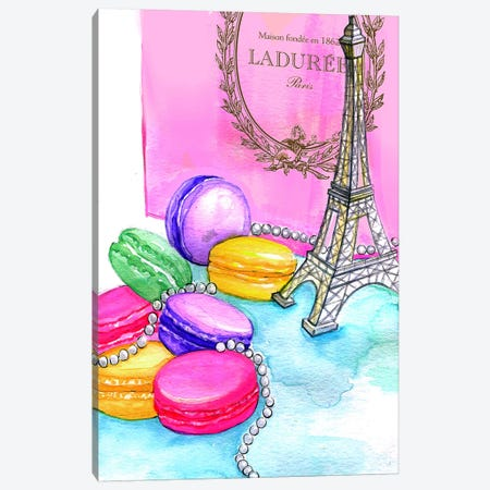 Afternoon In Paris Canvas Print #RDE15} by Rongrong DeVoe Art Print
