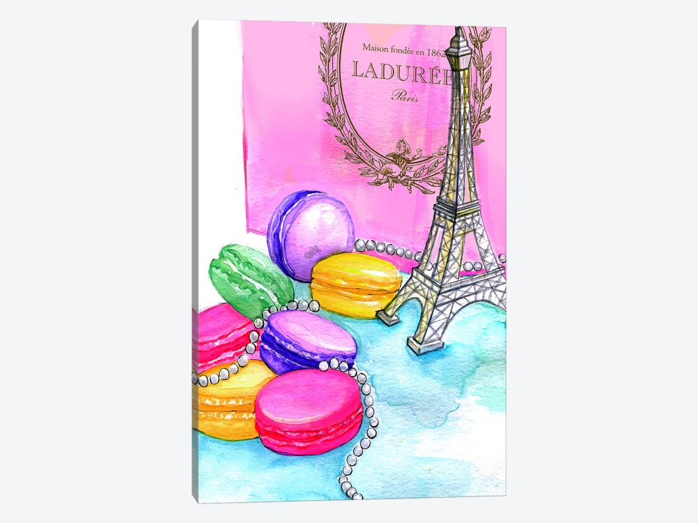 Afternoon In Paris 1-piece Canvas Print