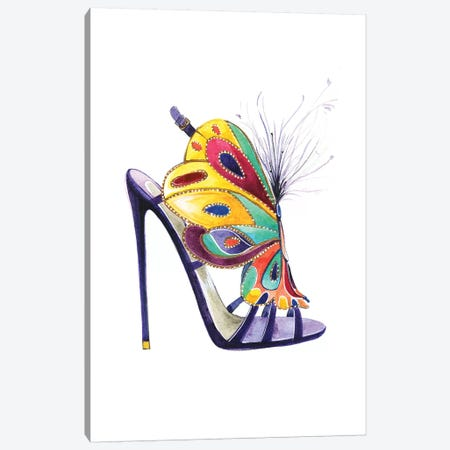 Butterfly Shoes By Brian Atwood Canvas Print #RDE160} by Rongrong DeVoe Canvas Wall Art
