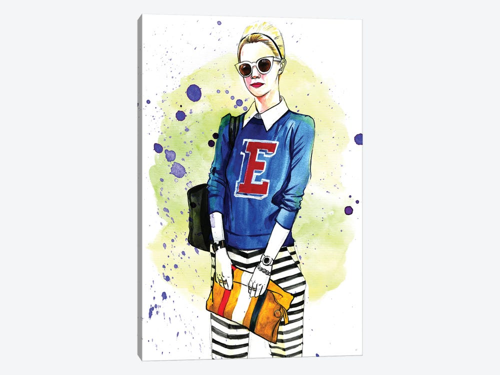 Fashion Blogger, Blair 1-piece Canvas Art Print