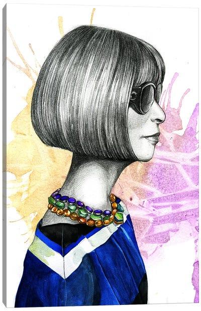 Anna Wintour Canvas Art Print