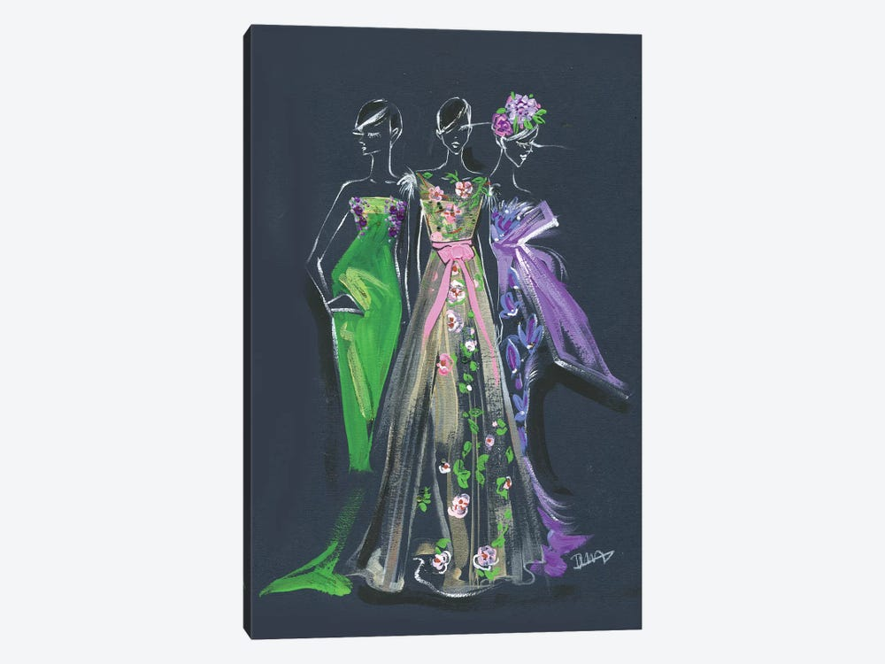 Marchesa Spring Gown by Rongrong DeVoe 1-piece Canvas Art