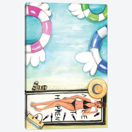 Maybelline New York Hamptons Invitation, No Logo Canvas Print #RDE171} by Rongrong DeVoe Canvas Art Print