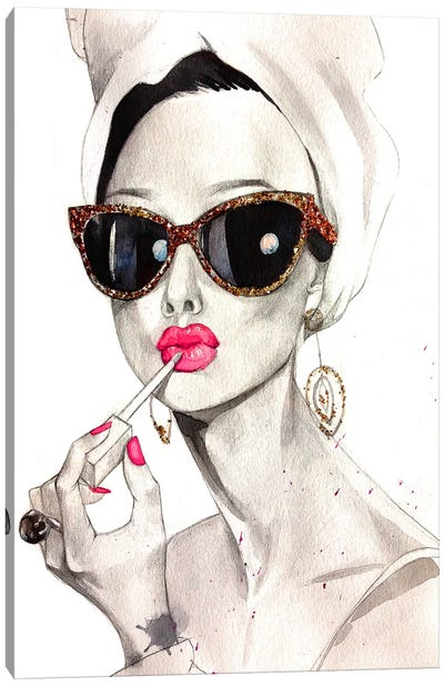 Audrey Hepburn Canvas Print #RDE17