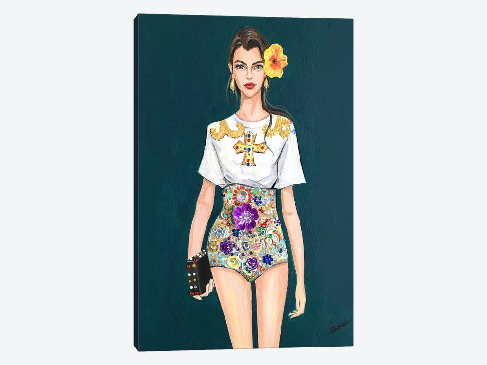 D&G Gal 1-piece Canvas Art Print