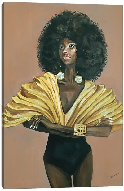 Diva by Rongrong DeVoe Canvas Art Print