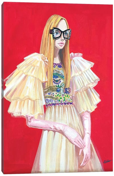 Gucci Lady Canvas Art Print