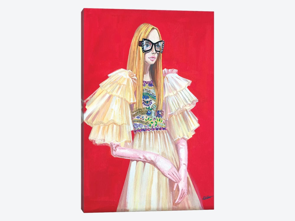 Gucci Lady by Rongrong DeVoe 1-piece Canvas Art Print