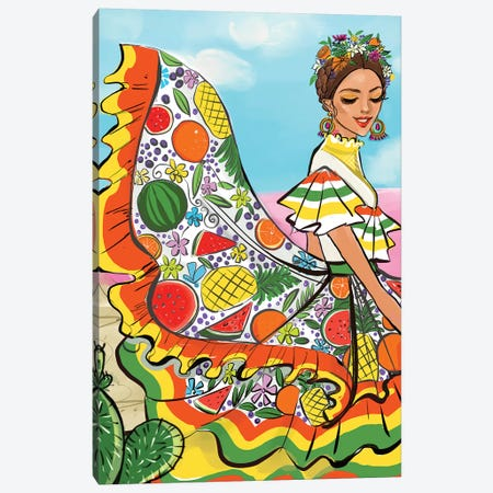 Mexico Canvas Print #RDE189} by Rongrong DeVoe Canvas Wall Art