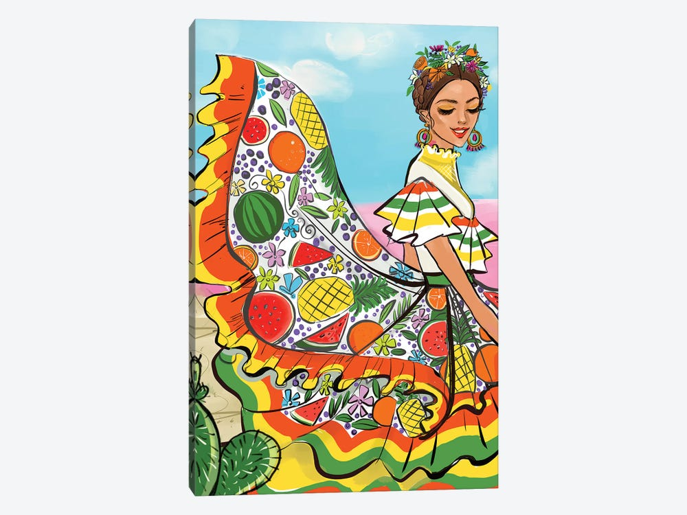 Mexico by Rongrong DeVoe 1-piece Canvas Art