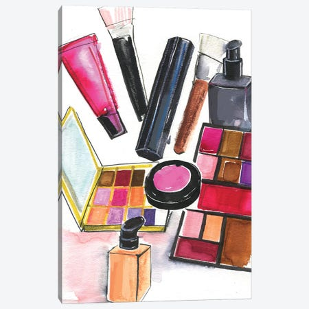 NARS And MAC Cosmetics Canvas Print #RDE190} by Rongrong DeVoe Canvas Art Print