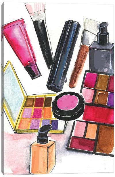 NARS And MAC Cosmetics Canvas Art Print