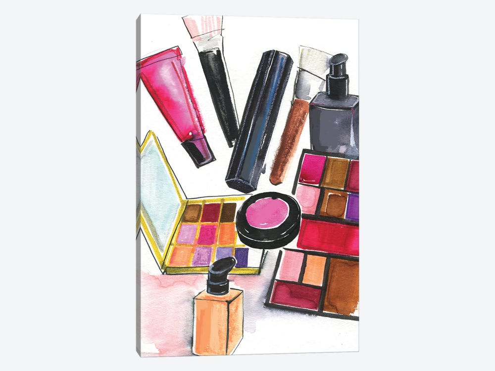 NARS And MAC Cosmetics by Rongrong DeVoe 1-piece Canvas Artwork