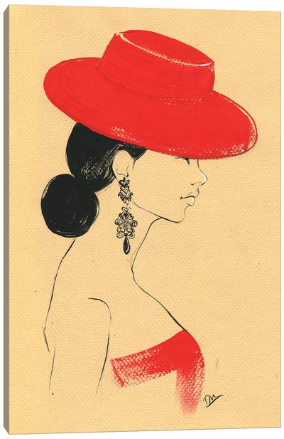 Ralph Lauren Red Canvas Art Print