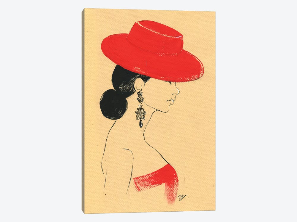 Ralph Lauren Red 1-piece Art Print