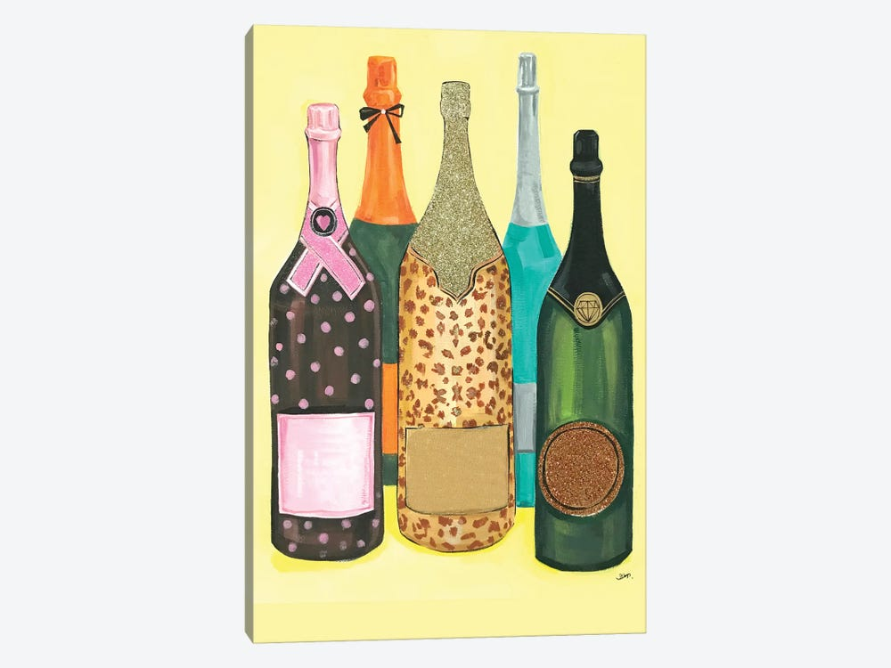 Champagne Without Logo by Rongrong DeVoe 1-piece Canvas Art Print