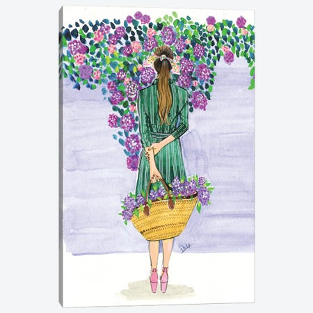 Lilac Season Canvas Print #RDE216} by Rongrong DeVoe Art Print