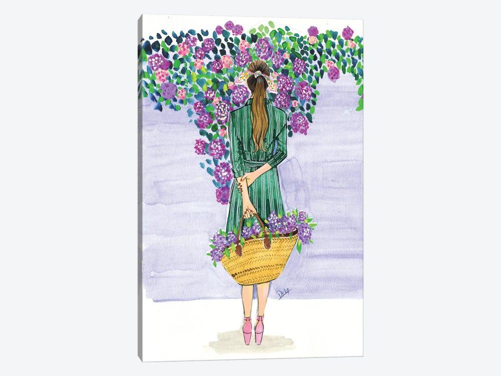 Lilac Season by Rongrong DeVoe 1-piece Canvas Art