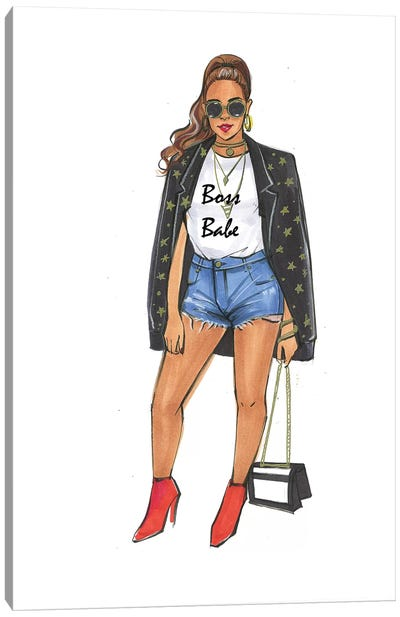 Boss Babe - Beyonce Canvas Art Print
