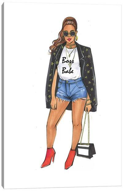 Boss Babe - Beyonce Canvas Art Print