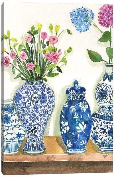 Ginger Jar Collection Canvas Art Print