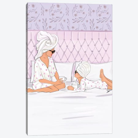 Good Morning Sunshine Canvas Print #RDE292} by Rongrong DeVoe Canvas Art
